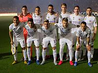 CARSON, CA - MARCH 07: Los Angeles Galaxy starting eleven during a game between Vancouver Whitecaps and Los Angeles Galaxy at Dignity Health Sports Park on March 07, 2020 in Carson, California.