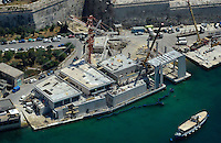 AFM new maritime base site at Marsaxett Harbour on 11-06-2015.