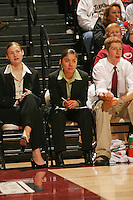 25 February 2006: Tina Samaniego during Stanford's 78-47 win over the Washington State Cougars at Maples Pavilion in Stanford, CA.