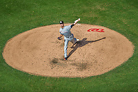 20 September 2015: Miami Marlins starting pitcher Justin Nicolino on the mound against the Washington Nationals at Nationals Park in Washington, DC. The Marlins fell to the Nationals 13-3 in the final game of their 4-game series. Mandatory Credit: Ed Wolfstein Photo *** RAW (NEF) Image File Available ***
