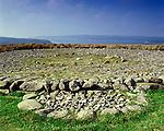 Platform Cairn, Llyn Brenig, Nr Cerrigydrudion, Conway, Wales. Celtic Britain published by Orion A Bronze Age burial platform.