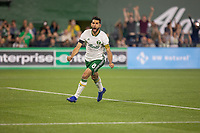 Portland, Oregon - Saturday July 13, 2019: The Portland Timbers played to a 2-2 draw against the Colorado Rapids in a regular season MLS game at Providence Park.