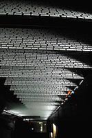 Jasenovac / Croazia.Il Campo di concentramento di Jasenovac fu il più grande campo di concentramento costruito nei Balcani durante la seconda guerra mondiale, creato dallo Stato Indipendente di Croazia, retto di fatto da Ante Paveli, alleato delle potenze dell'Asse..Si trova nei pressi dell'omonimo paese sulle rive del fiume Sava, ad un centinaio di chilometri a sud-est di Zagabria, vicino all'attuale confine croato-bosniaco..Nell'area di Jasenovac e nella vicina Stara Gradisca furono uccisi almeno 500.000 serbi, oppositori del regime, ebrei e rom..Durante il recente conflitto degli anni '90, la zona fu contesa tra serbi e croati ed il museo fu gravemente danneggiato. Restaurato nel 2004 è stato riaperto al pubblico con nuove sale e postazioni interattive che grazie a filmati storici e supporti digitali riportano i visitatori alle atmosfere ed alla tragedia che si è svolta in quei luoghi. Nella foto i pannelli con i nomi delle vittime..Foto Livio Senigalliesi..Jasenovac / Croatia.Jasenovac concentration camp was the largest extermination camp in the Independent State of Croatia (NDH) and occupied Yugoslavia during World War II. The camp was established by the Croatian Ustasha regime in August 1941 and dismantled in April 1945. In Jasenovac, the largest number of victims (at least 500.000) were ethnic Serbs, whom Ante Paveli considered the main racial opponents of Croatia, alongside the Jews and Roma peoples..During the recent conflict the Museum have been looted and heavy demaged by croat forces and rebuilt in 2004. .Photo Livio Senigalliesi