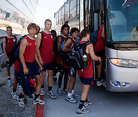 U17 Men's National Team training for the 2009 CONCACAF Under-17 Championship From April 21-May 2 in Tijuana, Mexico