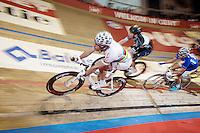 Madison World Champion David Muntaner (ESP)<br /> <br /> Gent 6 - day 4