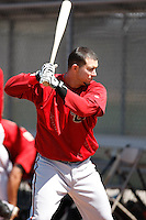 Ricardo Sosa - Arizona Diamondbacks - 2009 spring training.Photo by:  Bill Mitchell/Four Seam Images