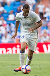 Real Madrid's Danilo Luiz da Silva during the match of La Liga between Real Madrid and SD Eibar at Santiago Bernabeu Stadium in Madrid. October 02, 2016. (ALTERPHOTOS/Rodrigo Jimenez)