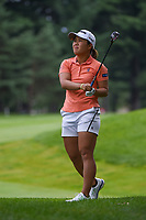 16th July 2021, Midland, MI, USA;  Nasa Hataoka (JPN) watches her second shot on 3 during the Dow Great Lakes Bay Invitational Rd3 at Midland Country Club on July 16, 2021 in Midland, Michigan.