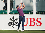 Paul Dunne of Ireland tees off the first hole during the 58th UBS Hong Kong Golf Open as part of the European Tour on 08 December 2016, at the Hong Kong Golf Club, Fanling, Hong Kong, China. Photo by Marcio Rodrigo Machado / Power Sport Images