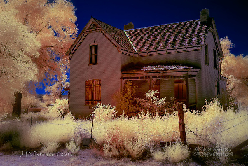 Abandoned Home, Escalante, Utah (Infrared)