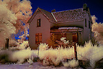 Abandoned Home, Escalante, Utah (Infrared)