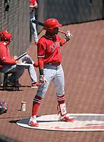 Alexander Ramirez - Los Angeles Angels 2021 spring training (Bill Mitchell)