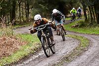 Andrew Denham. Hack Bike Derby. Druley Hill , Somerset .  Febuary  2016