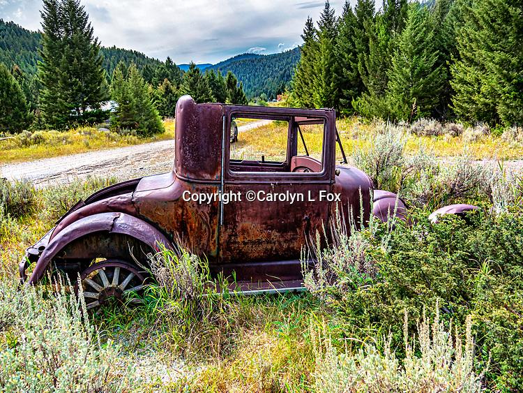 Elkhorn Ghost Town Vintage Car
