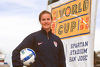 San Jose, CA; January, 1999. FIFA Women's World Cup 1999. Pre-World Cup.