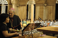 Bishop of Paramaribo Monseigneur Wilhelmus Adrianus Josephus Maria de Bekker....Official Opening Ceremony of ST. Petrus and Paulus Cathedral (AKA World's largest wooden cathedral)