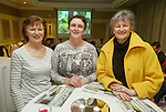 Rita Kelly, Marian Keane and Frances canny of Frances Boutique at the announcement of the winners of the annual Clare Champion Christmas Shop Window Display competition in the Old Ground hotel, Ennis. Photograph by John Kelly.
