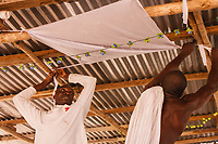 celebrazione del voodoo Gorò, nel quartiere Ebè di Lomè in Togo, tenuti dal capo spirituale Yema Sossou Djegnon