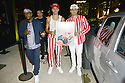 MIAMI, FL - JULY 09: Jeremiah Campbell Recording artist Jonny Dilakian and Aaron Dilaikian of JNA pose for picture during Miami Swim week JNA after party single release event at Racket Wynwood on July 9, 2021 in Miami, Florida.  ( Photo by Johnny Louis / jlnphotography.com )