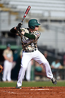 Slippery Rock Kyle Wise (6) during a game against the Kentucky Wesleyan Panthers on March 9, 2015 at Jack Russell Stadium in Clearwater, Florida.  Kentucky Wesleyan defeated Slippery Rock 5-4.  (Mike Janes/Four Seam Images)