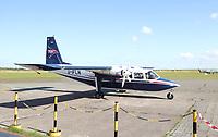 FLN Linienmaschine von Harle auf dem Flughafen von Wangerooge - Wangerooge 20.07.2020: Flug nach Wangerooge