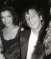 Jagger Rubell6694.JPG<br /> New York, NY 1978 FILE PHOTO<br /> Biana Jagger, Steve Rubell<br /> Studio 54 First Anniversary<br /> Digital photo by Adam Scull-PHOTOlink.net