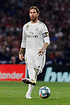 Sergio Ramos of Real Madrid during La Liga match between Atletico de Madrid and Real Madrid at Wanda Metropolitano Stadium in Madrid, Spain. September 28, 2019. (ALTERPHOTOS/A. Perez Meca)