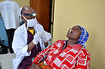 Dental surgery at Gisenyi Community Hospital in northwest Rwanda..