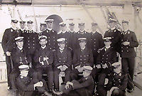 BNPS.co.uk (01202) 558833<br /> Pic: Charles Miller/BNPS<br /> <br /> The HMS Terrible gun room crew<br /> <br /> A fascinating photo album compiled by a British naval officer on tour in the Far East at the turn of the 20th century has come to light.<br /> <br /> Taprell Dorling served on the HMS Terrible in 1900 at the start of an over 30 year career at sea.<br /> <br /> The album, containing 74 photos, has emerged for sale with auctioneers Charles Miller, of London, with an estimate of £3,000.