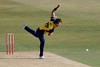 Jack Plom bowls for Essex during Kent Spitfires vs Essex Eagles, Vitality Blast T20 Cricket at The Spitfire Ground on 18th September 2020