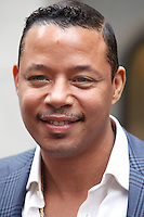 Terrence Howard pictured on set of of Dead Man Down on Walnut Street in Philadelphia, Pa on May 3, 2012  © Star Shooter / MediaPunchInc
