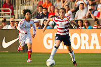 Kelley O?Hara (5) of the United States (USA). The United States (USA) women defeated China PR (CHN) 4-1 during an international friendly at PPL Park in Chester, PA, on May 27, 2012.
