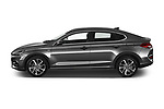 Car Driver side profile view of a 2020 Hyundai i30-Fastback Sky 5 Door Hatchback Side View
