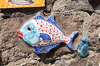 Italien, Ischia, Keramik in Sant' Angelo