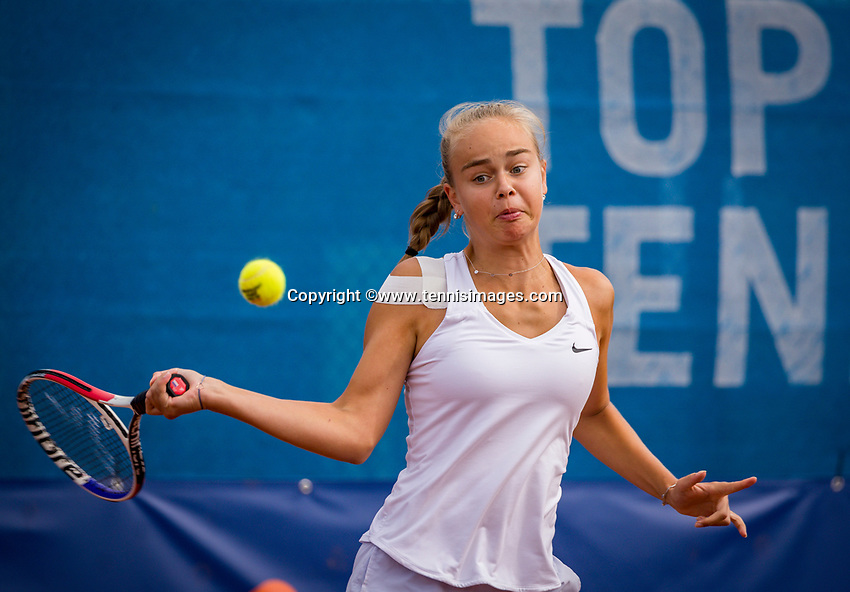Amstelveen, Netherlands, 1 August 2020, NTC, National Tennis Center, National Tennis Championships,  Womans Final Bente Spee (NED)<br /> Photo: Henk Koster/tennisimages.com