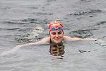 Barbara Collins at the Green Buoy 1KM Swim in Clogherhead....(Photo credit should read Jenny Matthews/NEWSFILE)...