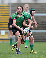 Tuesday 3rd April 2018 | Malone Women vs Ballynahinch Women<br /> <br /> Amanda Maginn during the Easter Tuesday Ulster Womens final between Malone and Ballynahinch at Kingspan Stadium, Ravenhill Park, Belfast, Northern Ireland. Photo by John Dickson / DICKSONDIGITAL
