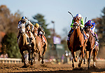 November 7, 2020 : Monomoy Girl, ridden by Florent Geroux, wins the Longines Distaff on Breeders' Cup Championship Saturday at Keeneland Race Course in Lexington, Kentucky on November 7, 2020. Alex Evers/Eclipse Sportswire/Breeders Cup/CSM