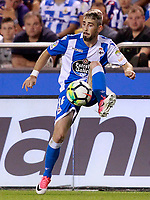 Deportivo de la Coruna's Luisinho Correia during La Liga match. August 20,2017.  *** Local Caption *** © pixathlon +++ tel. +49 - (040) - 22 63 02 60 - mail: info@pixathlon.de