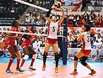 Chizuru Koto (JPN), AUGUST 26, 2015 - Volleyball : FIVB Women's World Cup 2015 1st Round between Japan 3-0 Kenya  in Tokyo, Japan. (Photo by Sho Tamura/AFLO SPORT)