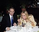GIANNI DEI E MARA VENIER<br /> COMPLEANNO ELSA MARTINELLI AL JEFF BLYNN'S   ROMA 2000