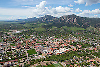 Boulder, Colorado. University of Colorado campus. May 2014