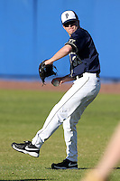 Pittsburgh Panthers Jeff Kelly #33 during a game vs. the Central Michigan Chippewas at Chain of Lakes Park in Winter Haven, Florida;  March 11, 2011.  Pittsburgh defeated Central Michigan 19-2.  Photo By Mike Janes/Four Seam Images