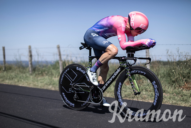 Simon Clarke (AUS/EF Education First)<br /> <br /> Stage 13: ITT - Pau to Pau (27.2km)<br /> 106th Tour de France 2019 (2.UWT)<br /> <br /> ©kramon