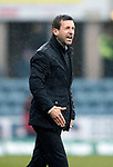 Dundee v St Johnstone…10.03.18…  Dens Park    SPFL<br />An angry Neil McCann shoits at his players<br />Picture by Graeme Hart. <br />Copyright Perthshire Picture Agency<br />Tel: 01738 623350  Mobile: 07990 594431