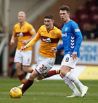 07.04.2019 Motherwell v Rangers: Ryan Jack and Jake Hastie