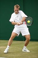 28-6-06,England, London, Wimbledon, first round match, CF.Rochus (bel)