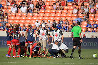 Houston, TX - Sunday Oct. 09, 2016: Caprice Dydasco during a National Women's Soccer League (NWSL) Championship match between the Washington Spirit and the Western New York Flash at BBVA Compass Stadium.