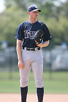 March 19th 2008:  Travis Barnett of the Tampa Bay Devil Rays minor league system during Spring Training at the Raymond A. Naimoli Complex in St. Petersburg, FL.  Photo by:  Mike Janes/Four Seam Images