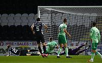 16th September 2020; St Mirren Park, Paisley, Renfrewshire, Scotland; Scottish Premiership Football, St Mirren versus Celtic; Lee Erwin scores and makes it 1-0 to St Mirren in the 3rd minute